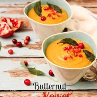 Curried Butternut Velvet Soup