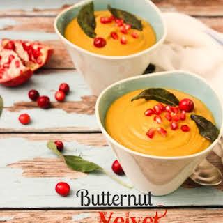 Curried Butternut Velvet Soup.