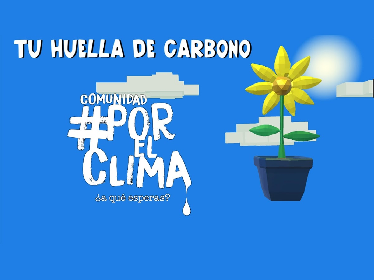 Tu huella de carbono- screenshot