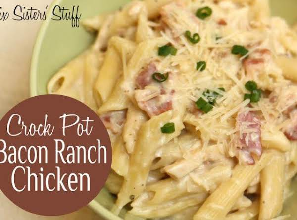 Crock Pot Bacon Ranch Chicken Recipe