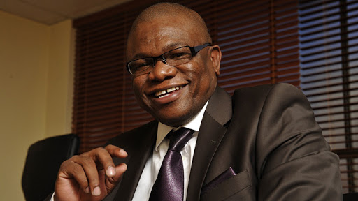 Johannesburg mayor Geoffrey Makhubo.