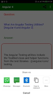 Angular 2, Angular 4 Interview Questions 2018 - náhled
