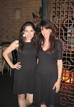 Photo: Andrea Syrtash and Julie Spira during Book Expo America in New York.