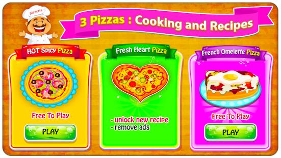 pizza maker giochi di cucina miniatura screenshot