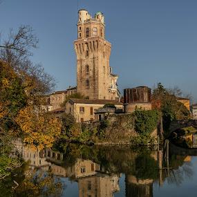 Padova Vista by Hariharan Venkatakrishnan - City,  Street & Park  Vistas