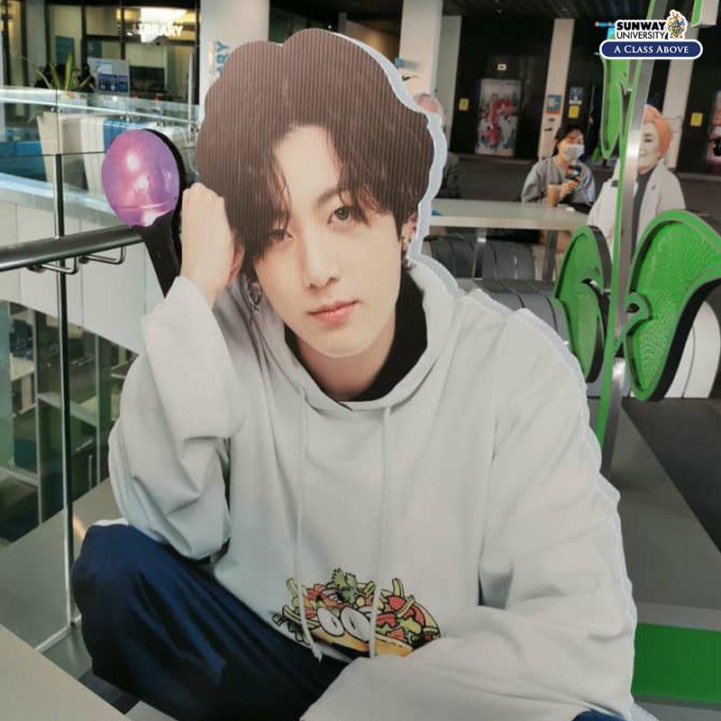 bts jungkook sunway university
