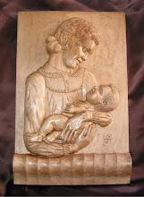 Photo: Tamaño: 33 x 23 cm. aprox. || Talla en madera. Woodcarving.   Puedes conocer más de este artista en el blog: http://tallaenmadera-woodcarving-esculturas.blogspot.com/