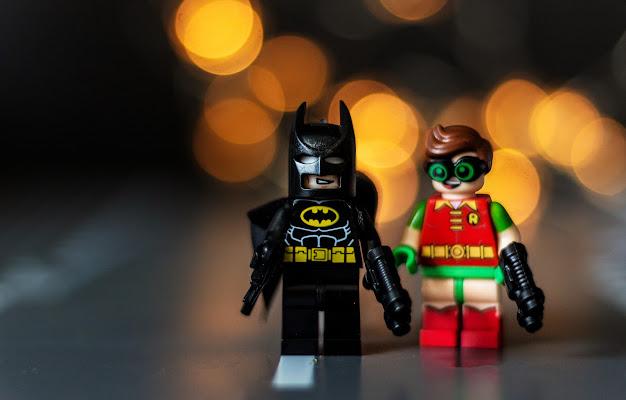 Batman e Robin di Paolinda