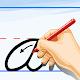 MJ Cursive Handwriting Worksheet Download on Windows