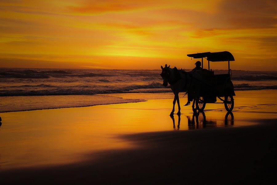 work until sunset by Anhar Fahrul - Landscapes Sunsets & Sunrises