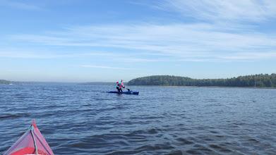 Photo: ...a kanadyjkarz już po nawrocie