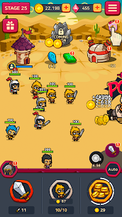 Merge Battle Heroes MOD (Unlimited Diamonds) 2