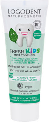 Tandkräm Kids mint fluorfri