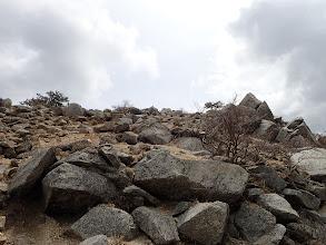 ハライド山頂へ