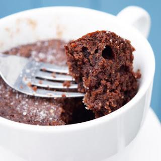 Low Carb Chocolate Mug Cake.