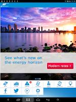 Screenshot of SDG&E Bill and Energy App