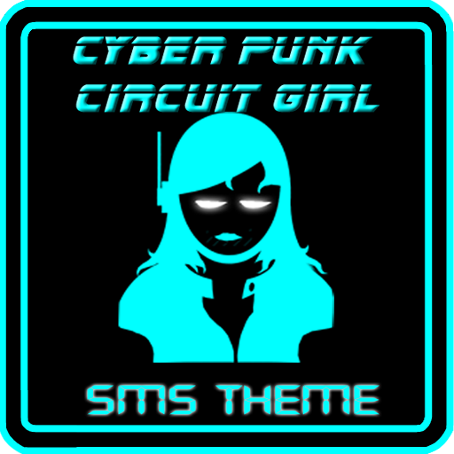 SMS Theme CyberPunk Girls 個人化 App LOGO-APP試玩