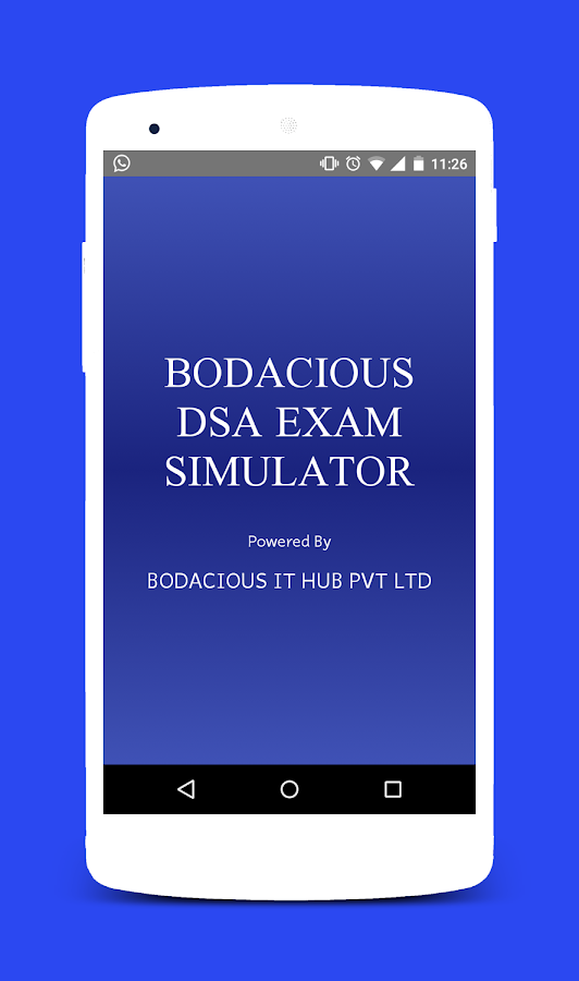 Bodacious DSA Exam Simulator- screenshot