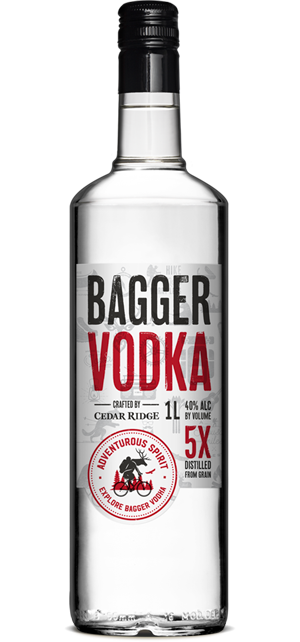 Logo for Bagger Vodka