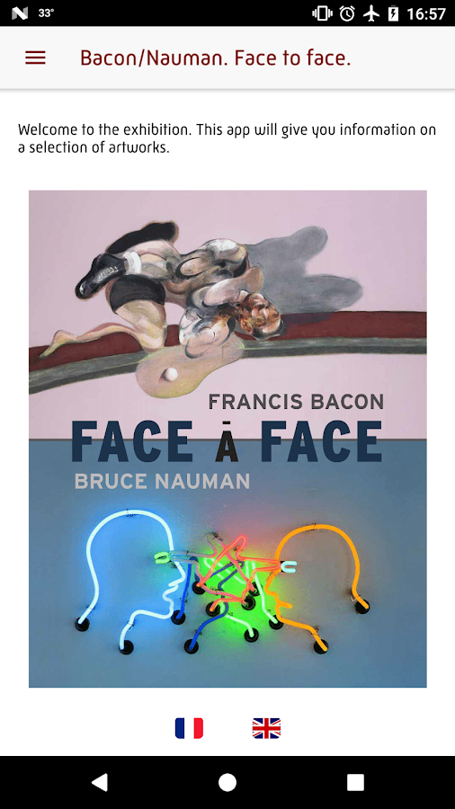 Bruce / Nauman. Face to Face- screenshot