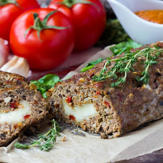 Mediterranean Meatloaf In The Slow Cooker