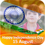Flag on Face Photo Editor (independence Day) icon