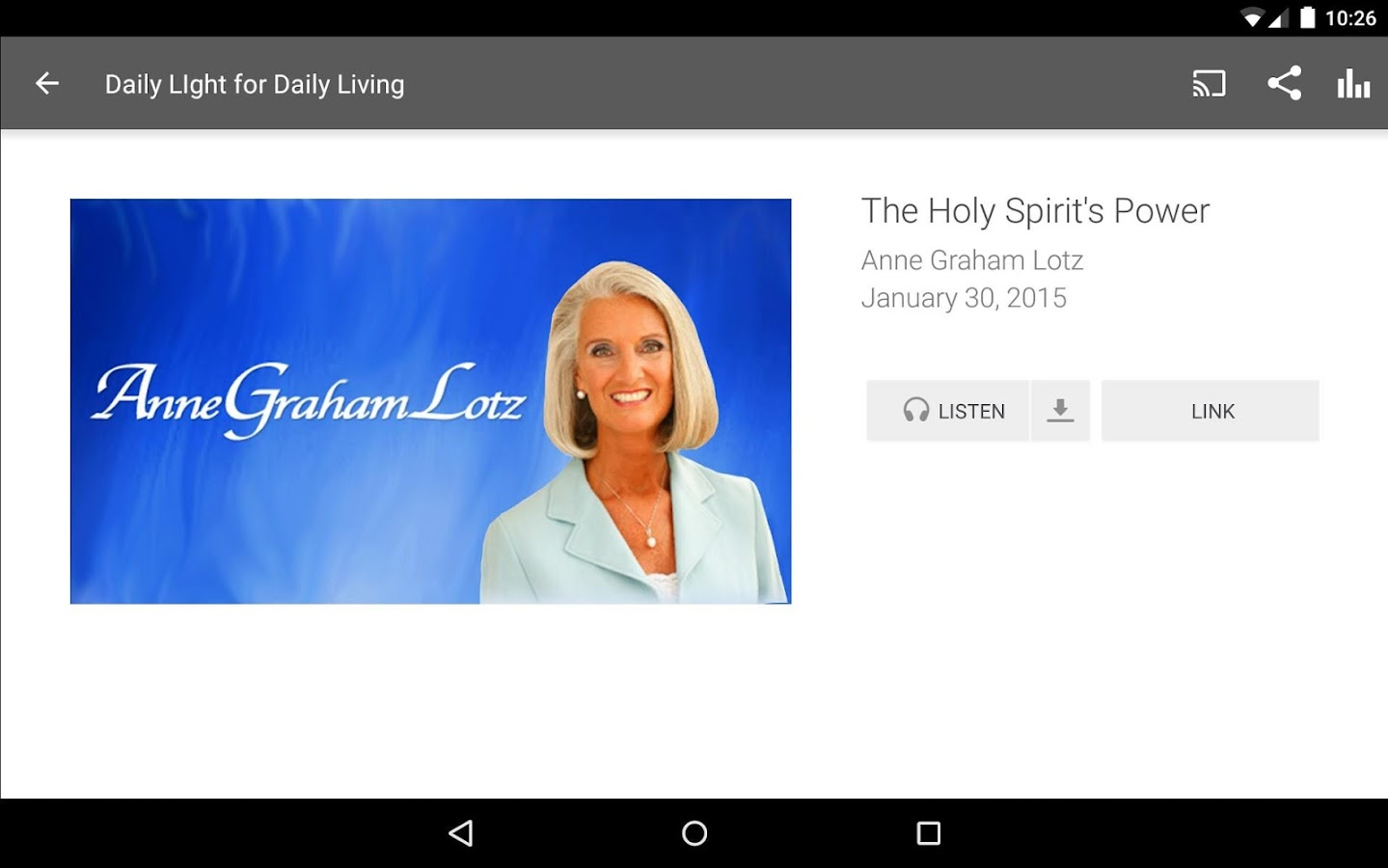Anne Graham Lotz- screenshot
