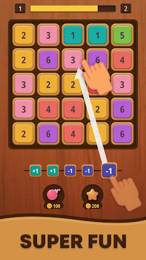 Mergezilla - Number Puzzle apktram screenshots 1