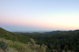 Photo: View of the valley at Sunrise Highway, Pine Valley
