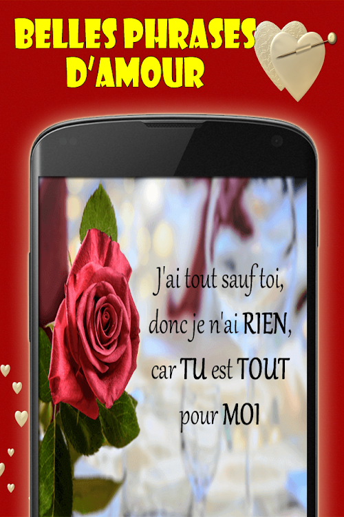 Belles Phrases D Amour Citation D Amour Android