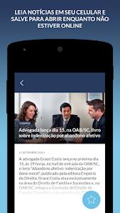 Notícias OAB/SC screenshot 1