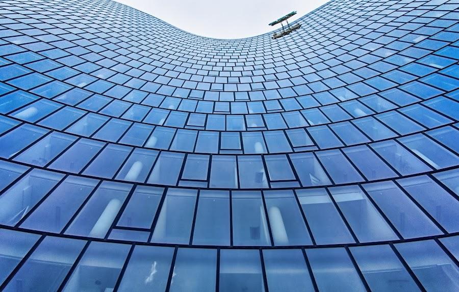 Endless by Donald Plozha - Buildings & Architecture Office Buildings & Hotels ( building, sky, offices, architectural, windows, architecture )