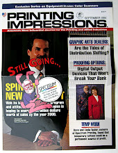 Photo: When I was employed by Spectrum Printing, from 1993 - 1995, they were featured in Printing Impressions Magazine, Dave asked me to do a cartoon of him as the Energizer Bunny. We printed up thousands of these and inserted them into the San Diego Business Journal.
