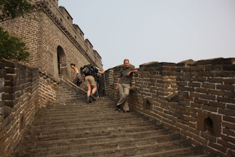 Photo: Day 191 - Rog on the Great Wall of China