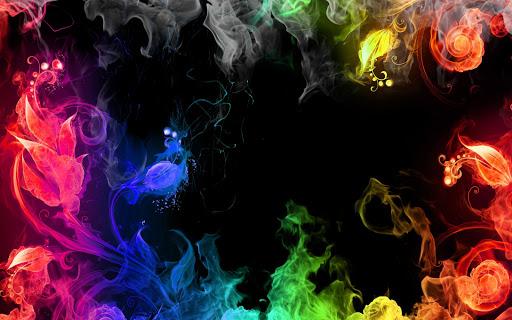 Smoke Color Live Wallpaper