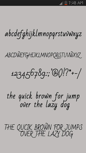 Free Fonts Style 4