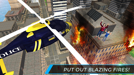 Real City Police Helicopter Games: Rescue Missions 5.0 screenshots 2