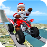 Crazy Santa Impossible ATV Bike Stunts Icon