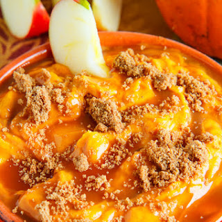Caramel Pumpkin Cheesecake Dip