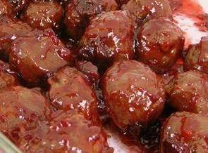 20 Minute Molasses Meatballs Recipe