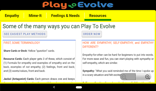 NVC Play to Evolve - screenshot