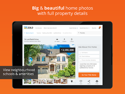 Real Estate in Canada by Zolo- screenshot thumbnail