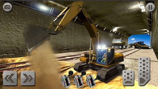Sand Excavator Truck Driving Rescue Simulator game 8