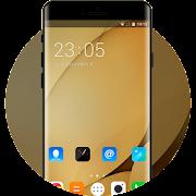 Theme for Lenovo K8 Plus HD: Gold Wallpaper