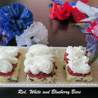 Red, White and Blueberry Bars #FillTheCookieJar.