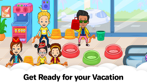My Airport Town: Kids City Airplane Games for Free screenshots 5