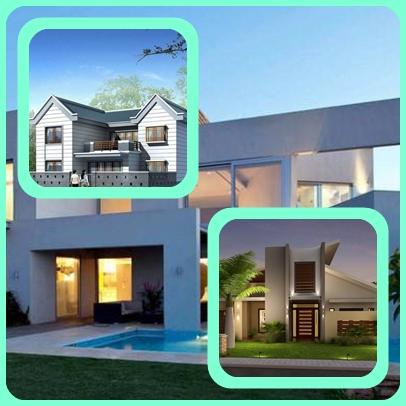 3d home exterior design android apps on google play for Exterior house design app