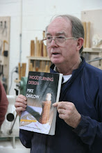 Photo: Chuck recommended the Darlow book, Woodturning Design.