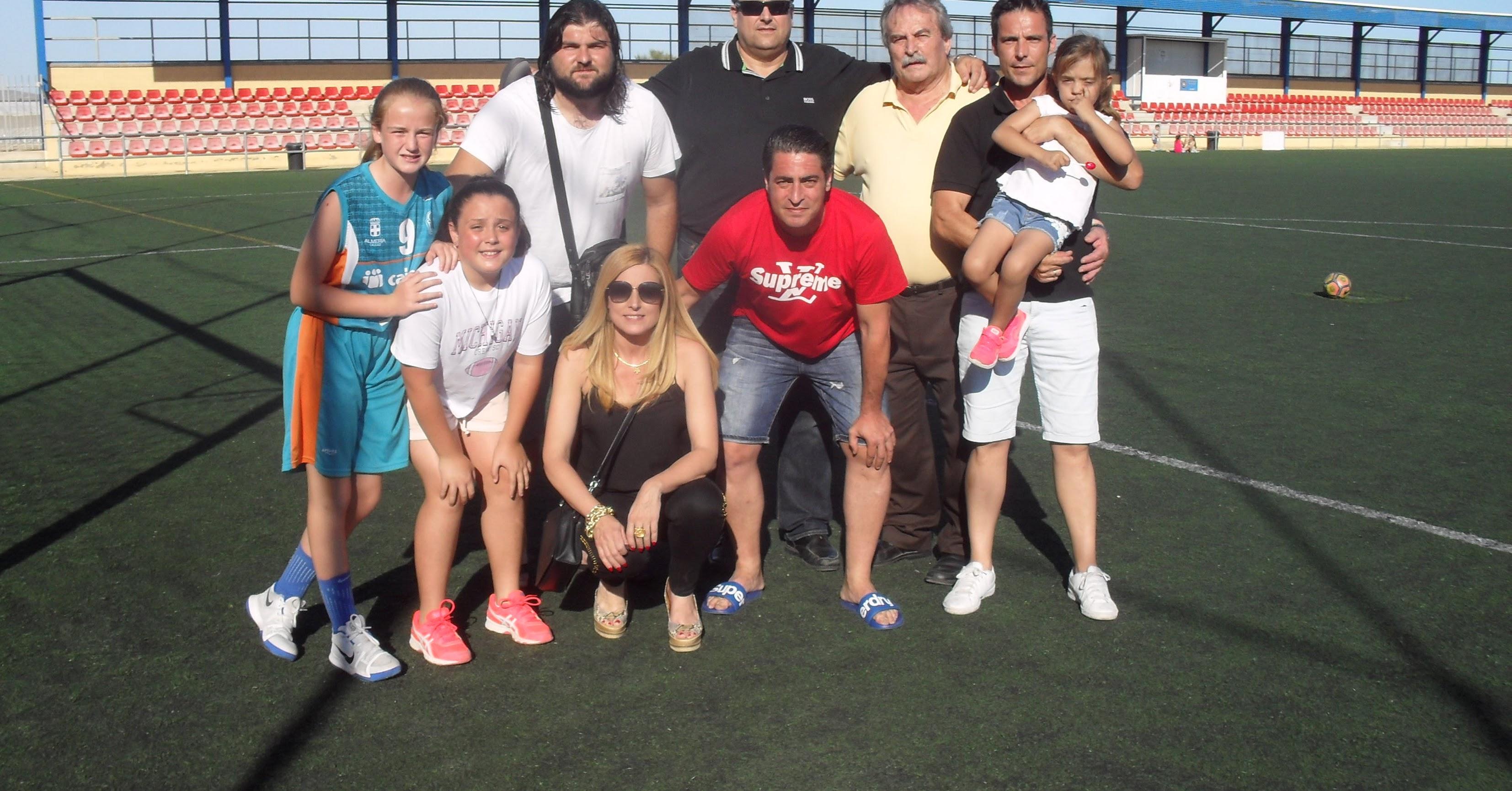 La familia de Félix Crespo siempre presente.