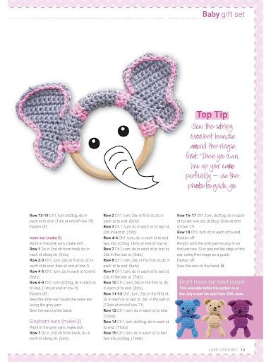 Crochet Toy Elephant Amigurumi Free Patterns | Crochet elephant pattern, Crochet  elephant pattern free, Crochet elephant | 512x384